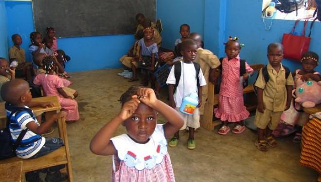 Copiii din Guineea