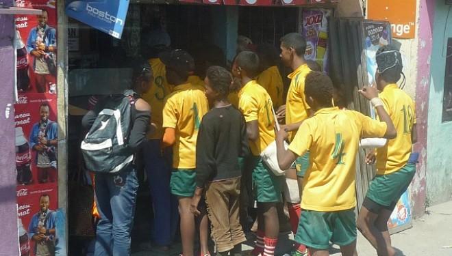 Copiii din Madagascar