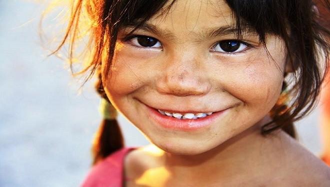 Copiii din Nepal