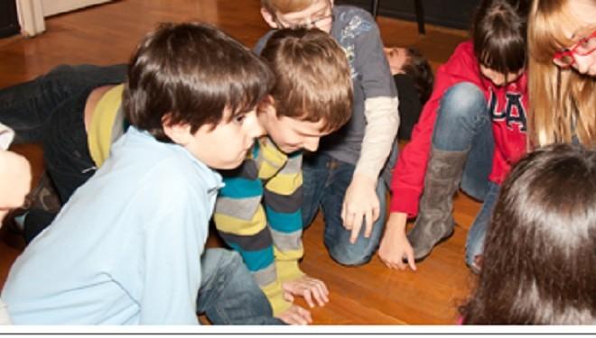 Atelier de spontaneitate şi imaginaţie pentru copii