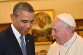 Obama si Papa