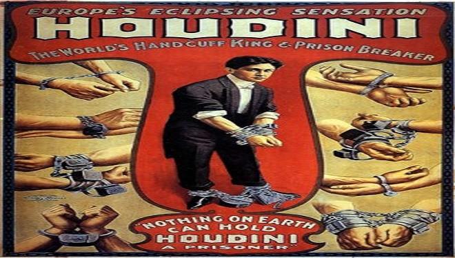 24 martie – Magicianul Houdini