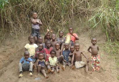 Copiii din Congo