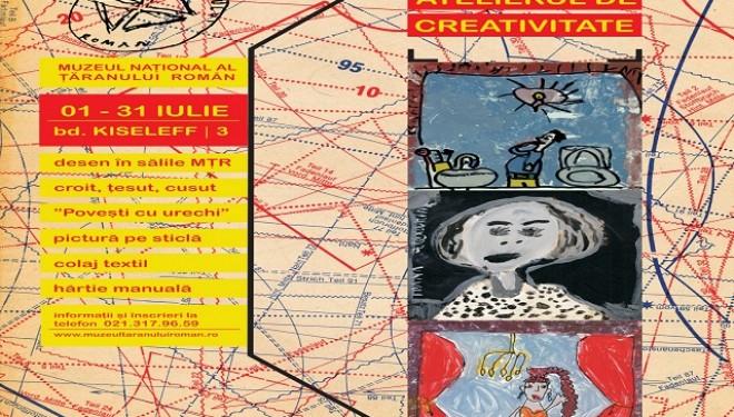 Vacanță la Atelierul de creativitate