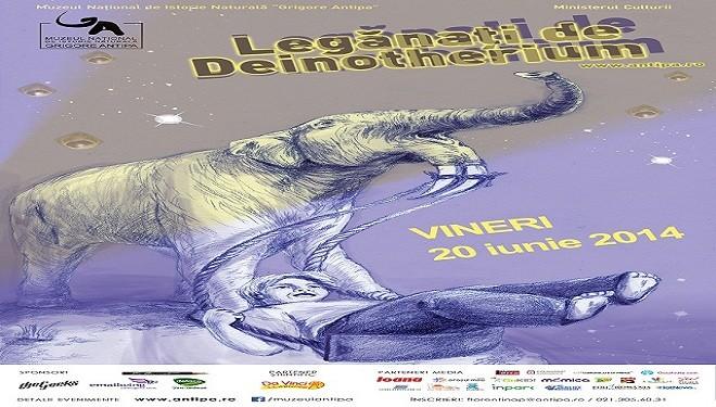 O noapte la muzeu – legănați de Deinotherium