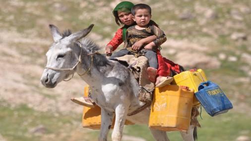 Copiii din Afganistan