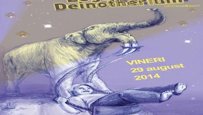 Legănați de Deinotherium – O noapte la Muzeu