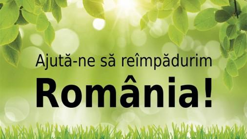 Ajută-ne să reîmpădurim România!