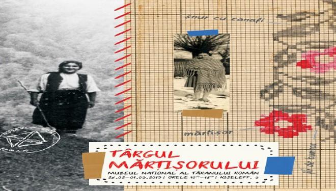 Târgul Mărțișorului la Muzeul Național al Țăranului Român