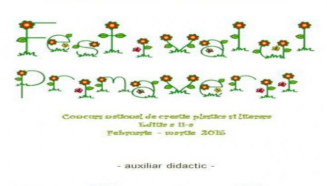 Magia culorilor şi a cuvintelor – concurs de creaţie literară şi plastică