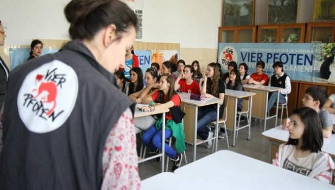 Copiii din Chişinău învață să protejeze animalele