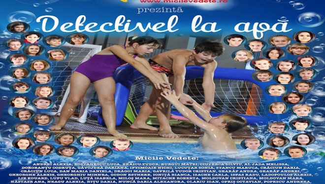 Cel mai nou film românesc pentru copii cu detectivi