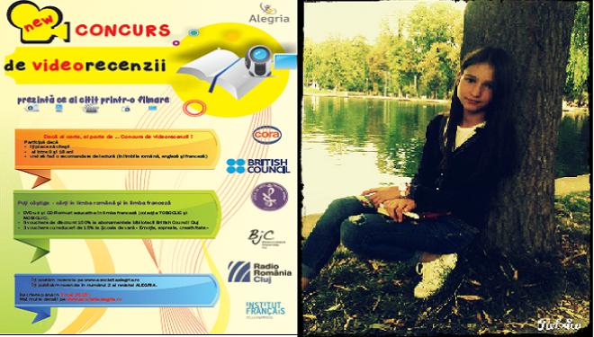 Câștigătoarea concursului Alegria (limba franceză), Diana Paul, despre adolescență, lectură și emoții