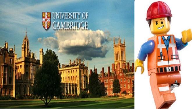 Universitatea din Cambridge caută profesor de Lego