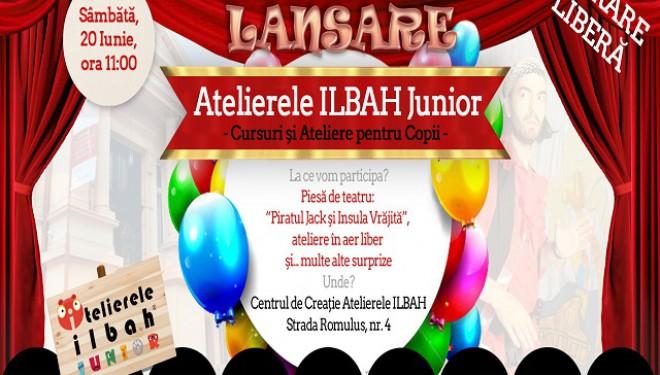Atelierele ILBAH Junior, o lume fantastică pentru tine și copilul tău!