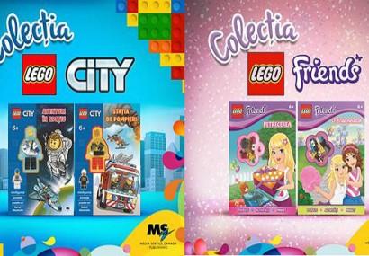 4 cărți din colecțiile LEGO City și LEGO Friends – Intâmpinați toamna cu noi aventuri!