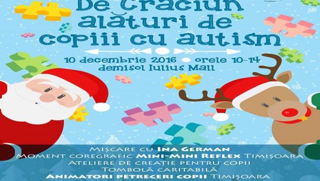 Deveniți Moș Crăciun pentru un copil cu autism!
