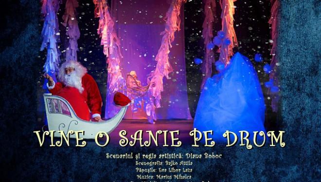 """Despre bunătate şi bucuria de a dărui: """"Vine o sanie pe drum"""", pentru copii mari şi mici, la Merlin"""