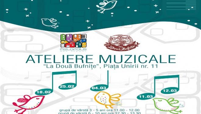 """Melopolis și """"Bufnițele"""" din Timișoara vă invită la ateliere muzicale"""