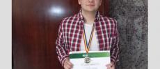 Sergiu este cel mai bun elev din România la matematică