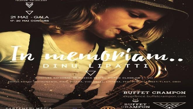 In Memoriam Dinu Lipatti – Concurs de intepretare muzicala pentru copii
