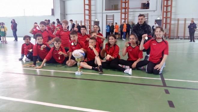 Timișorenii de la generală 30, primii campioni ai orașului la ONSS rugby-tag