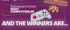 Castigatoarele Shakespeare School Essay Competition 2017 vor studia vara aceasta la Londra