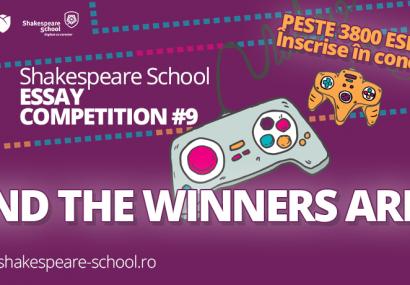 shakespeare school essay competition eseuri castigatoare