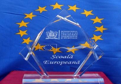 """Festivitatea de decernare a titlului """"Şcoala Europeană"""" 2017"""