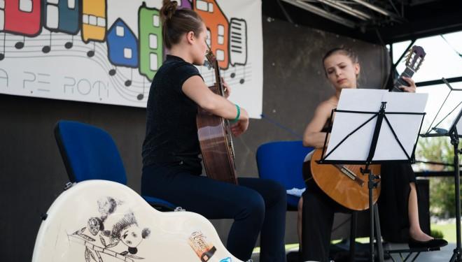 Muzică pe roți, pentru copii, părinți și bunici în șase cartiere ale Timișoarei