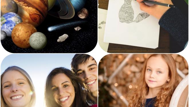 Descoperă ce talente are copilul tău: astronomie, teatru, desen etc