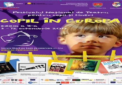 """""""Copil în Europa"""" – festivalul de teatru care provoaca emoții mari pentru cei mici!"""