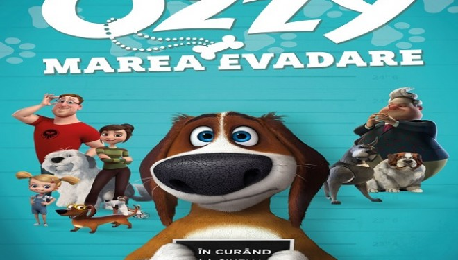 Ozzy, marea evadare și broscuţa rosie revin la Cinema Elvire Popesco