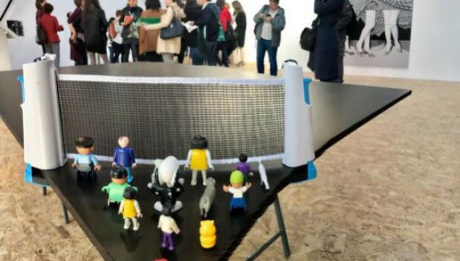 Copiii învață despre arta contemporană la Art Encounters