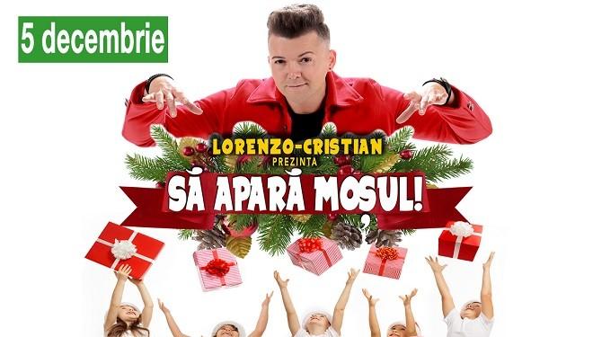 Câștigă invitaţii la întâlnirea cu Moș Crăciun de pe 5 decembrie, alături de Magicianul Lorenzo-Cristian!