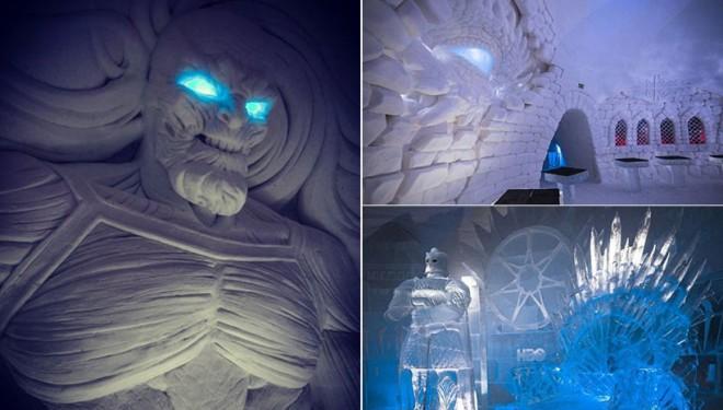 Ce vă așteaptă dacă mergeți în Finlanda: Hotel Game of Thrones din gheață