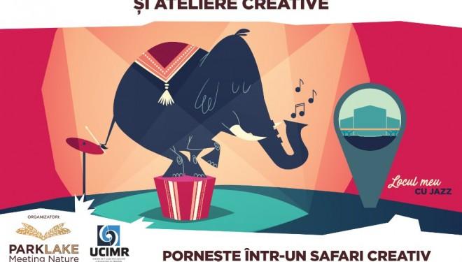 """""""Elefantul curcubeu"""",  safari creativ urmat de concerte jazz"""
