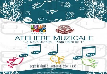 Ateliere pentru micii muzicieni, la Doua Bufnițe