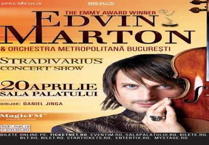 CONCURS! Invitaţii la Stradivarius Concert Show! Edvin Marton şi vioara lui de 7 milioane de dolari