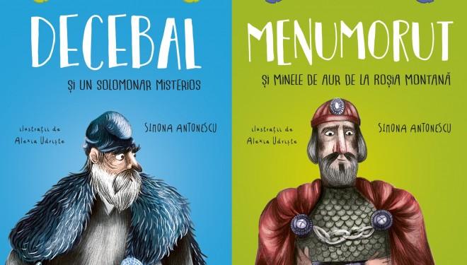 Istoria României prin ochii a doi copii: de la Decebal la Pasărea Măiastră