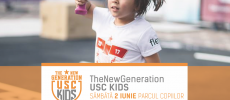 Copiii supereroi și sportivi se întrec la The New Generation: USC Kids