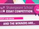Două adolescente din Adunaţii Copăceni şi Arad câştigătoarele marelui premiu la Shakespeare School Essay Competition 2018