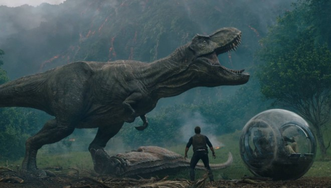 "LA FILM. Rubrică susținută de Cinema City. George a trăit suspansul la ""Jurassic World: Fallen Kingdom"""