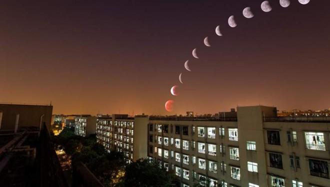 Lecția de astronomie – Eclipsa totală de lună din 27 iulie e CEA MAI LUNGĂ pe care o vom vedea vreodată