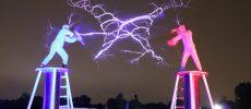 Cavaleri în zale se luptă cu fulgere ADEVĂRATE la BEGA! 2019 – The Lightning Project