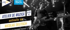 Atelier muzical pentru copii propunerea Institutului Francez din Timișoara de Sărbătoarea Muzicii