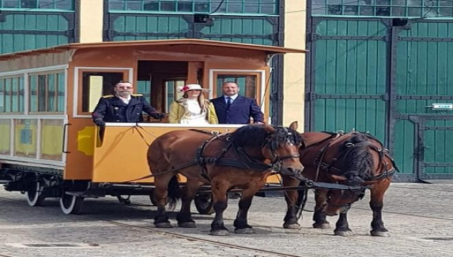 La Timișoara – tramvaiul tras de cai la paradă