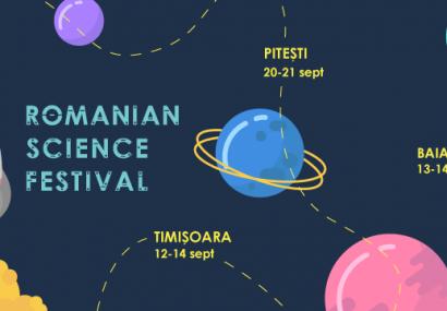 Romanian Science Festival: Primul festival național de științe își deschide porțile