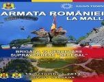 Camuflaj, insigne, haine miliare, expoziții și concerte. De Ziua Armatei Romane la Iulius Mall Timișoara