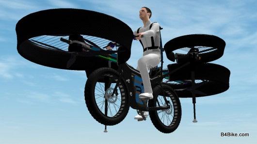 Bicicleta zburatoare